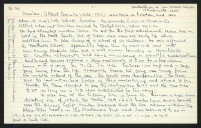 Macdonald Dictionary Record: Alfred Coombs Newton