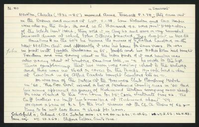 Macdonald Dictionary Record: Charles Newton