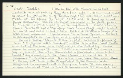 Macdonald Dictionary Record: Joseph Newton