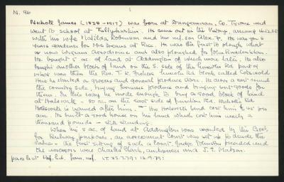 Macdonald Dictionary Record: James Nicholl