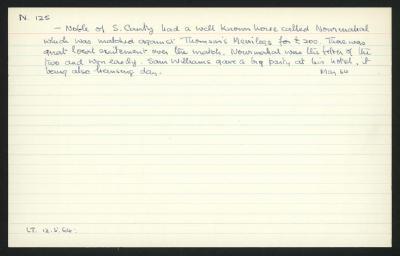 Macdonald Dictionary Record: Mr Noble