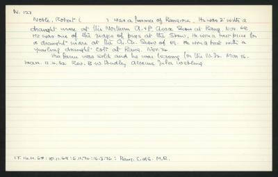 Macdonald Dictionary Record: Robert Noble