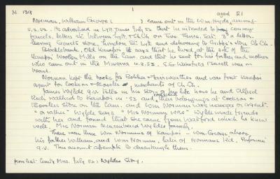 Macdonald Dictionary Record: William George Norman