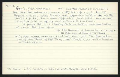 Macdonald Dictionary Record: Edward Norris