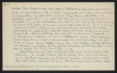 Macdonald Dictionary Record: John Jackson Oakden