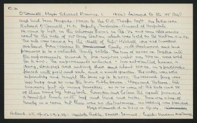 Macdonald Dictionary Record: Edward Maurice O'Connell
