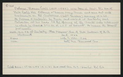 Macdonald Dictionary Record: Thomas Lester Osborne