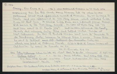 Macdonald Dictionary Record: Ezra Otway