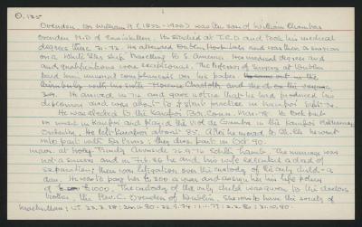 Macdonald Dictionary Record: William H Ovenden