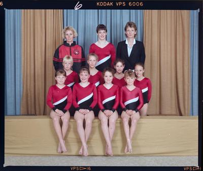 Negative: Canterbury Gymnastics Aim Club 1989