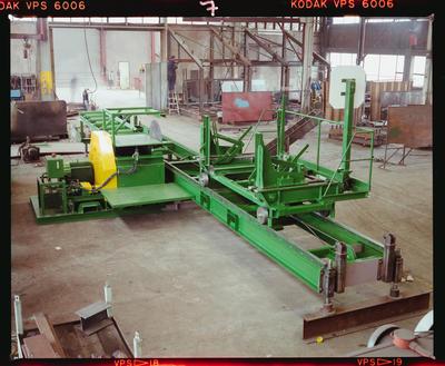 Negative: Machinery Southern Cross Engineering