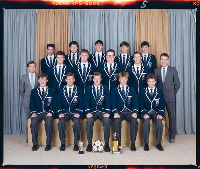 Negative: St Andrew's College Soccer 1989