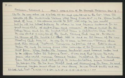 Macdonald Dictionary Record: Edward Parkerson