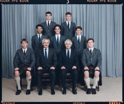Negative: St Andrew's College Thompson House Prefects 1989