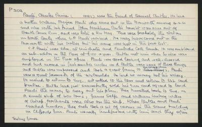 Macdonald Dictionary Record: Charles Paine Pauli