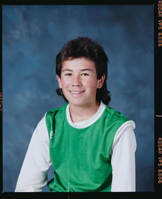Negative: Unnamed Boy Shamrock Soccer U14 1989