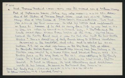 Macdonald Dictionary Record: Thomas Frederick Peel