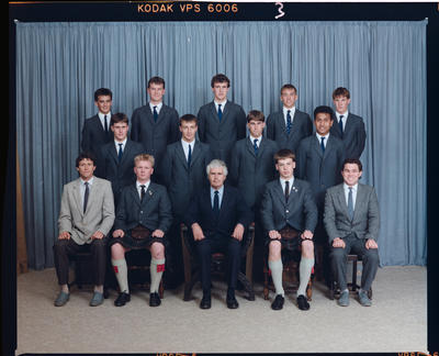 Negative: St Andrew's College Rutherford House Prefects 1989