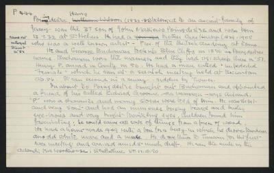 Macdonald Dictionary Record: Henry Poingdestre