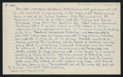 Macdonald Dictionary Record: John Pow