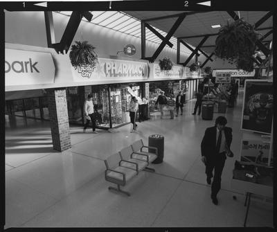 Negative: Linwood City Shopping Centre Interior