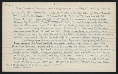 Macdonald Dictionary Record: Frederick Henry Pyne