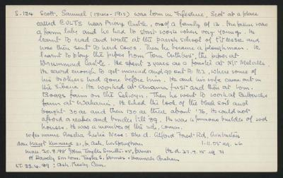 Macdonald Dictionary Record: Samuel Scott