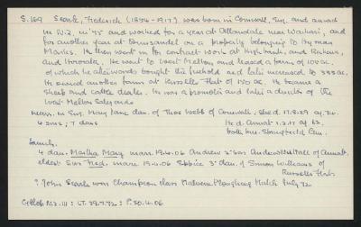 Macdonald Dictionary Record: Frederick Searle