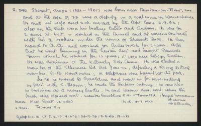 Macdonald Dictionary Record: Amos Sherratt