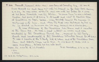 Macdonald Dictionary Record: Thomas Sherratt