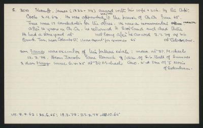 Macdonald Dictionary Record: James Sherriff