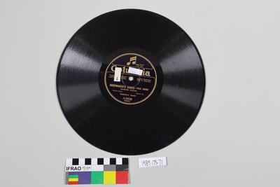 Records, gramophone