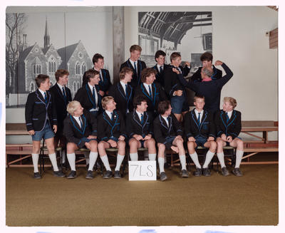 Negative: CBHS Class 7LS 1989