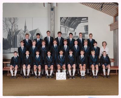 Negative: CBHS Class 5GO 1989