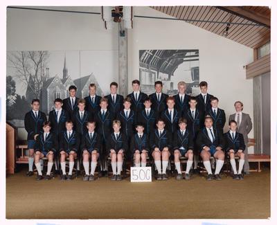 Negative: CBHS Class 5OG 1989