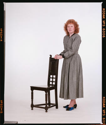 Negative: Anne Saunders Portrait