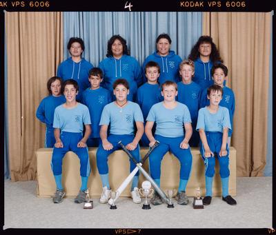 Negative: Southern Blue Softball 1989 Team