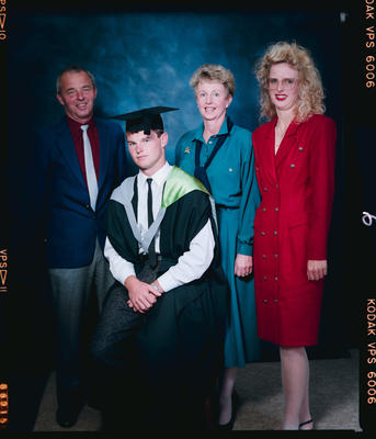 Negative: Steve McIssac Graduate And Family