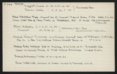 Macdonald Dictionary Record: James Froggatt, Alfred Adolphus Fryer, Arthur Lake Fulford, Edward Vincent Fullames, Blair Fullarton, Frederick Richardson Fuller, James Fuller; 1952-1964;