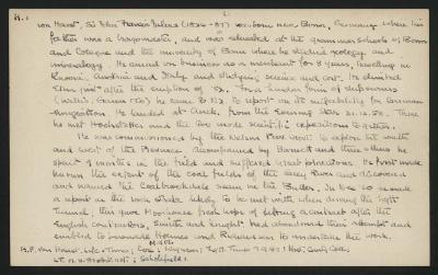 Macdonald Dictionary Record: John Francis Julius, von Haast, John Francis Julius von Haast; 1952-1964;