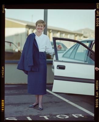 Negative: Tania Jones Portrait