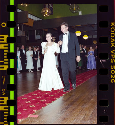 Negative: Girl And Man Marian College Debutante Ball 1989