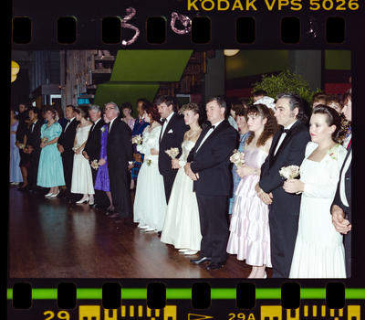 Negative: Girls And Men Marian College Debutante Ball 1989