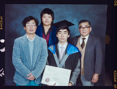 Negative: Paul Yee University Of Canterbury Graduation 1989