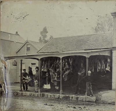Photograph: Butcher's Shop Frontage