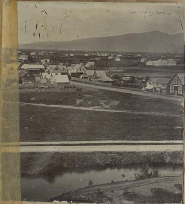 Photograph: Christchurch, September 1860
