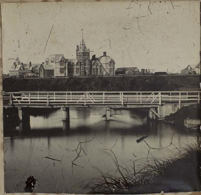 Photograph: Papanui (now Victoria) Bridge