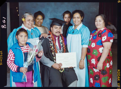 Negative: Sauluitoga Kupa University Of Canterbury Graduation 1989