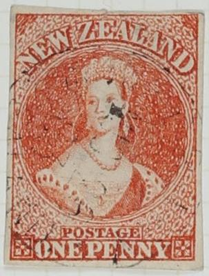 Stamps New Zealand One Penny
