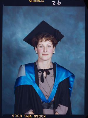 Negative: University Of Canterbury Graduation 1989